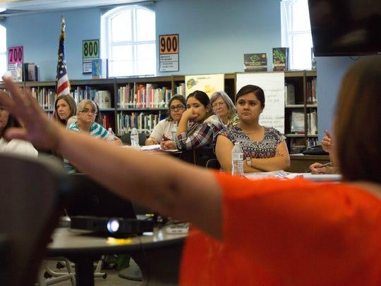 Las Cruces Public Schools PreK and Head Start instructors