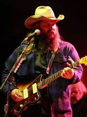 """Chris Stapleton's ACM nominations include Male Vocalist of the Year, New Male Vocalist of the Year and Album of the Year for """"Traveller."""""""