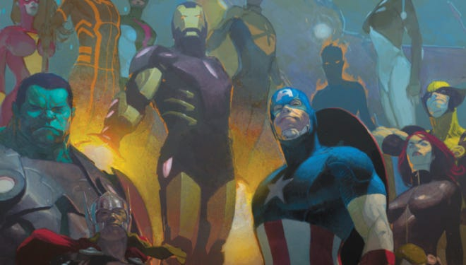 "Marvel Comics' signature supergroup will need all the help it can get when a rogue planet comes careening at Earth in ""Avengers"" No. 24.NOW."