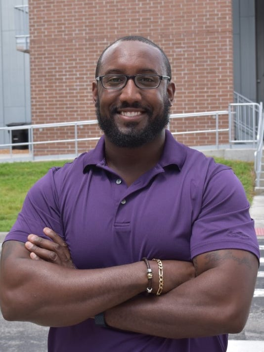 Quentin Earl Darrington on campus