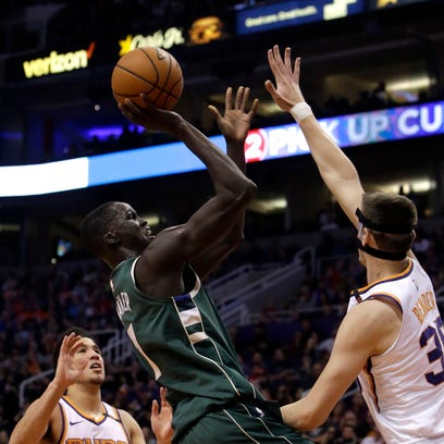Bucks' Thon Maker seeing results from focus on midrange jumpers