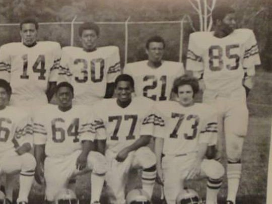 Chris Doleman, 85, pictured with his York High teammates.