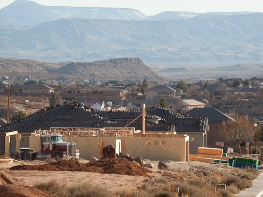 Residential development continues in the Little Valley
