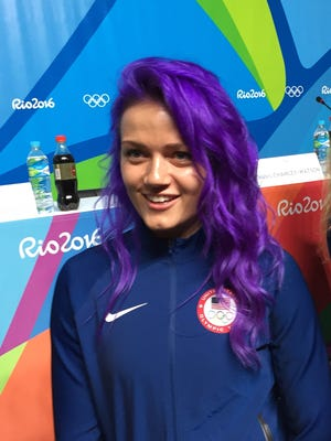 Dagmara Wozniak will be looking to medal on Monday.