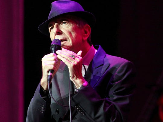 In this March 22, 2013 file photo, Leonard Cohen performs