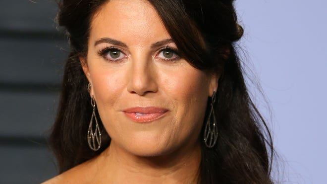 Monica Lewinsky attends the 2018 Vanity Fair Oscar Party following the 90th Academy Awards at The Wallis Annenberg Center for the Performing Arts in Beverly Hills, Calif., March 4, 2018.