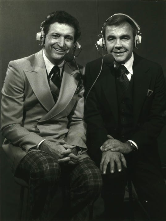 Al McGuire and Dick Enberg