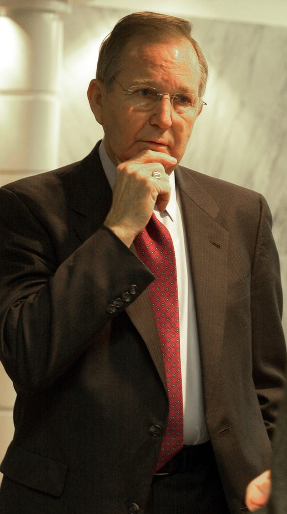 Paul Hubbert in the Alabama legislature.