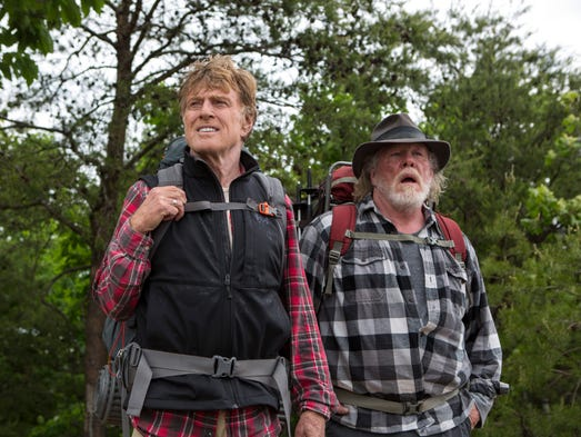 Walk in the woods sept 2 robert redford and nick nolte star