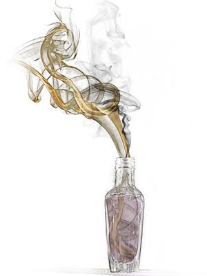 The author attempts to make tobacco bitters.