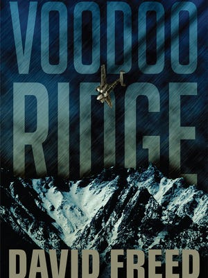 Voodoo Ridge by David Freed, book cover.