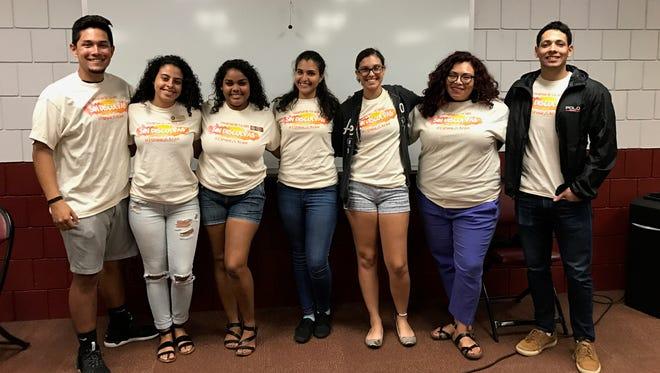 Members of the Hispanic Latino Student Union
