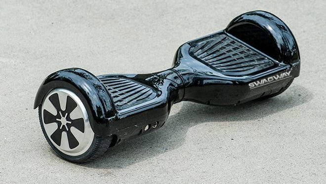 The Swagway, one of the many hoverboards now available.