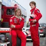 Flamboyant British F1 driver James Hunt (Chris Hemsworth) and scrupulous Austrian Niki Lauda (Daniel Bruhl) match wits and speed in Ron Howard's 'Rush.'