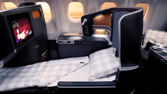 This image provided by SAS shows the airline's new