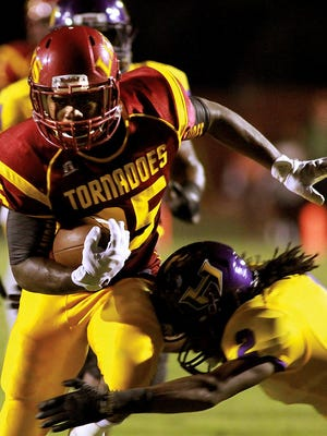 The annual Battle for the Little Brown Jug between Hattiesburg and Laurel was an instant classic in 2015.