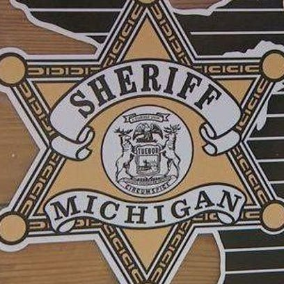 Michigan sheriff's department logo.
