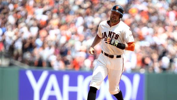 Hunter Pence missed 110 games last season due to various