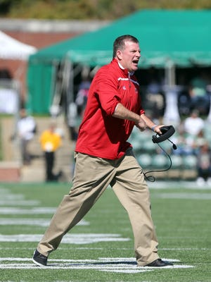 """Miami coach Chuck Martin  said his team has """"significantly improved its compete level."""""""