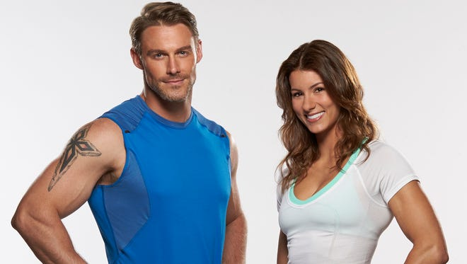 (l-r) Jesse Pavelka and Jennifer Widerstrom join The Biggest Loser trainers in season 16.