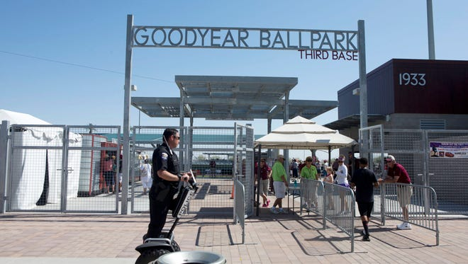 Goodyear has struggled to finance its stadium for the Cleveland Indians and Cincinnati Reds, in part because the facility hasn't led to development in the area.