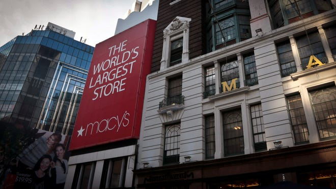 Macy's flagship store in New York.