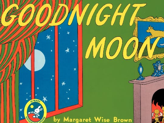 Book jacket of 'Goodnight Moon' by Margaret Wise Brown,