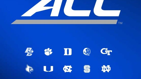 The new ACC logo unveiled Thursday.