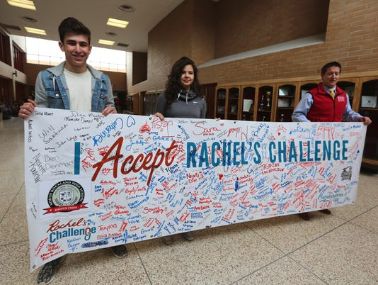 Rachel's Challenge at North Rockland