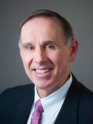Jay Brooks Jackson, a professor of laboratory medicine and pathology, dean of the medical school and vice president for health sciences at the University of Minnesota in Minneapolis, is one of two candidates for Jean Robillard's role as UI vice president for medical affairs.