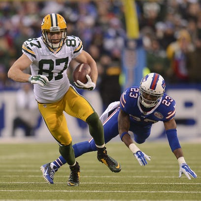 Green Bay Packers receiver Jordy Nelson is one of six