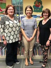 Franklin School library media specialist Rachel Kennedy,