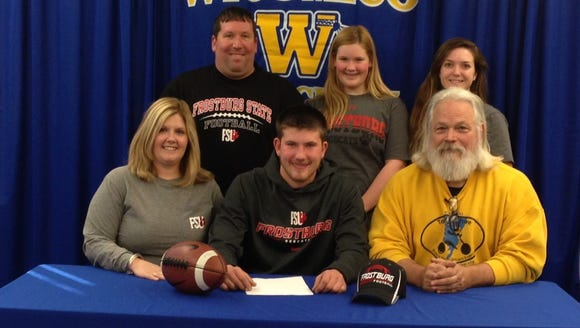 Wi-Hi's Caleb Welch committed to play football at Frostburg