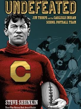 The Carlisle Indian Industrial School was famous for its sports teams. Olympic gold medalist Jim Thorpe was a graduate of the school, where he excelled as atwo-timeAll-Americanfor theschool's football team.