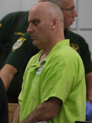 Douglas Manning makes a court appearance in Escambia County Tuesday afternoon.