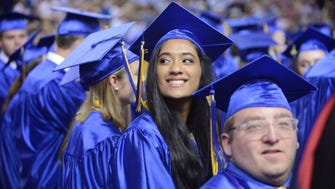 The Brentwood High School graduation ceremony for the class for 2018 at Lipscomb University's Allen Arena on Sunday, May 20, 2018.