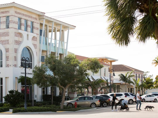 Hoffmann Commercial Real Estate, a St. Louis-based real estate holding company, has purchased property at 350, 370 and 382 12th Ave. S. in downtown Naples, as well as 360 12th Ave. S., adding to its collection of more than 20 properties in the area. Seen here Tuesday, Jan. 16, 2018.