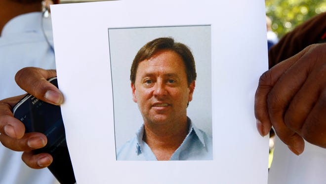 Investigators say Shannon Lamb, displayed in a digital photograph released by the Mississippi Department of Public Safety, was found dead of an apparent self-inflicted gunshot wound. He was considered a suspect in the deaths of Delta State University history professor Ethan Schmidt and Amy Prentiss, who lived with Lamb in Gautier.