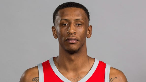 Houston Rockets forward Troy Williams (5)