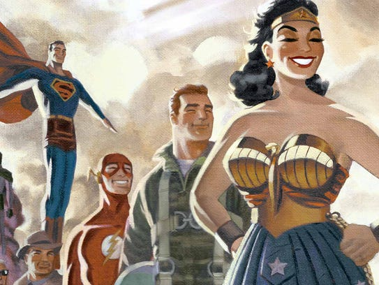 Darwyn Cooke took superheroes back to the 1950s for