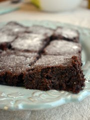 You'll never know the base of these grain-free brownies