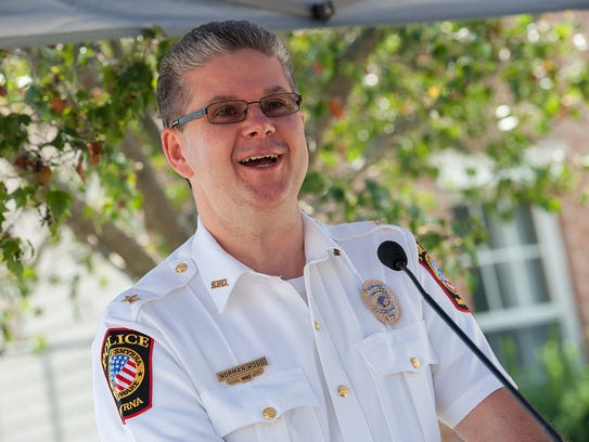 Smyrna police Chief Norman Wood is at the center of