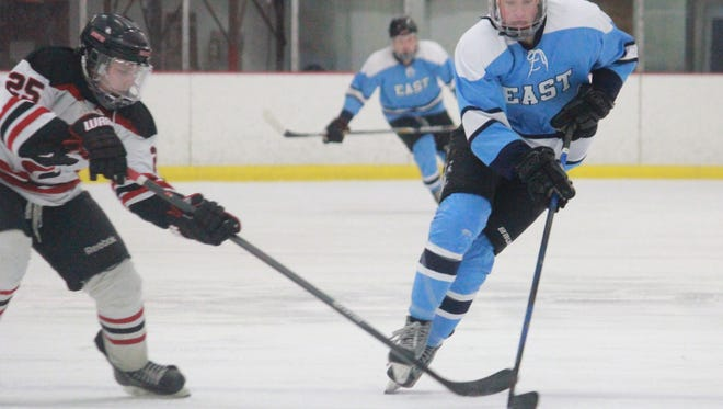 Zach Noble of Toms River East.