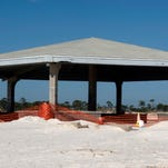 Johnson Beach pavilion destroyed by termites, slated for demolition