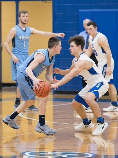 Southeastern defeated Adena at Southeastern High School