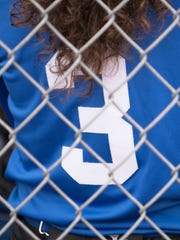 Alysia wears No. 3 for Chillicothe High School's softball program. The Cavaliers' cleanup hitter provides power in the middle of the lineup but was just as powerful as an 18-month-old.
