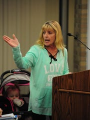 Jenny McMullen urged city leaders to work with the