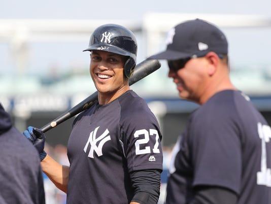 MLB: Spring Training-Tampa Bay Rays at New York Yankees