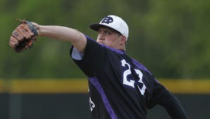 CHCA's Cameron Varga set a national record with 33 consecutive strikeouts this season.