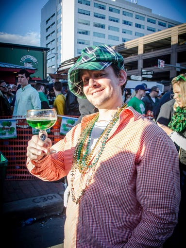 David Woiwood, 31, of Des Moines, at Mickey's Irish